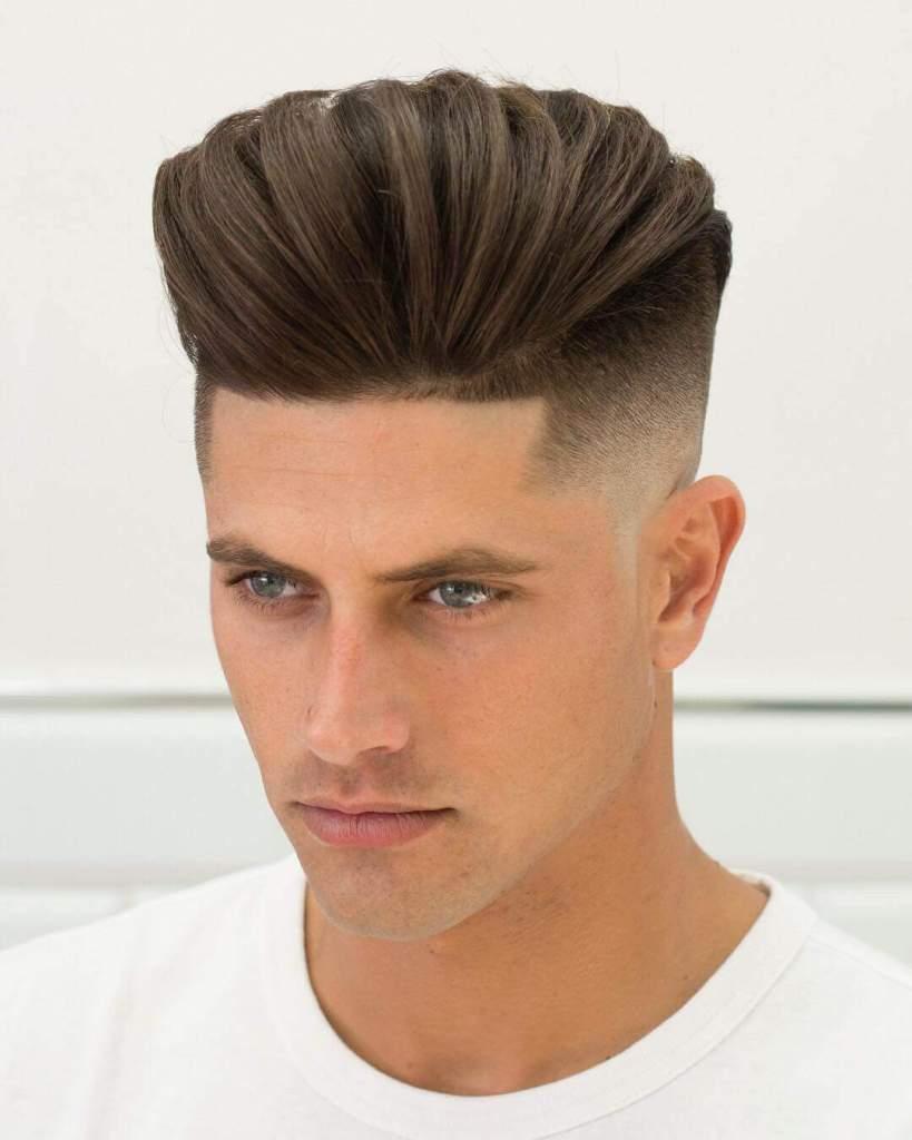 Pompadour Fade Haircut