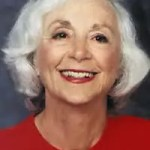 Portrait of Barbara Marx Hubbard.