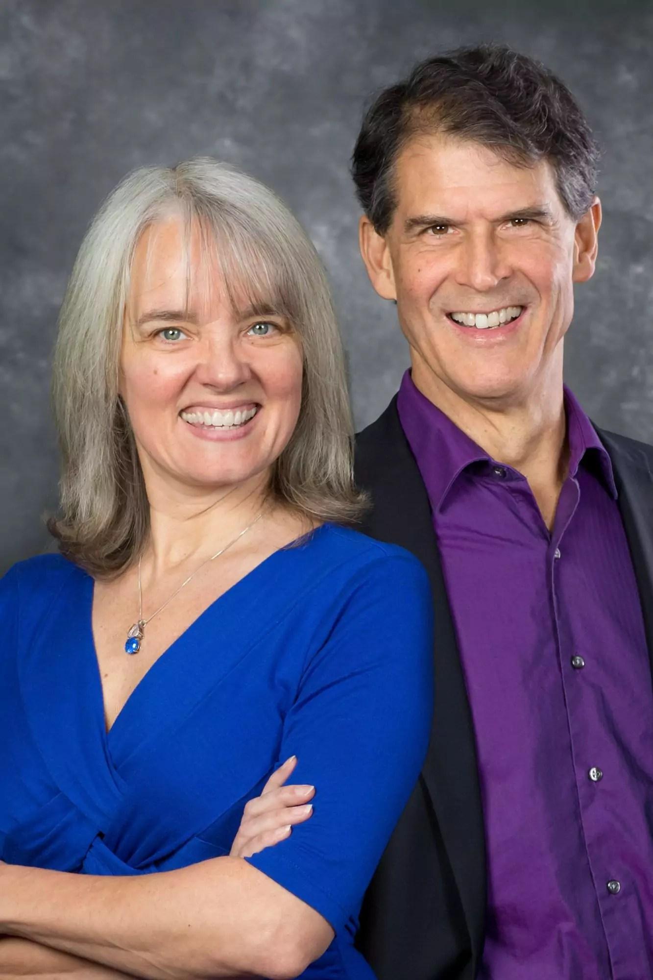Portrait of Dr. Eben Alexander & Karen Newell.