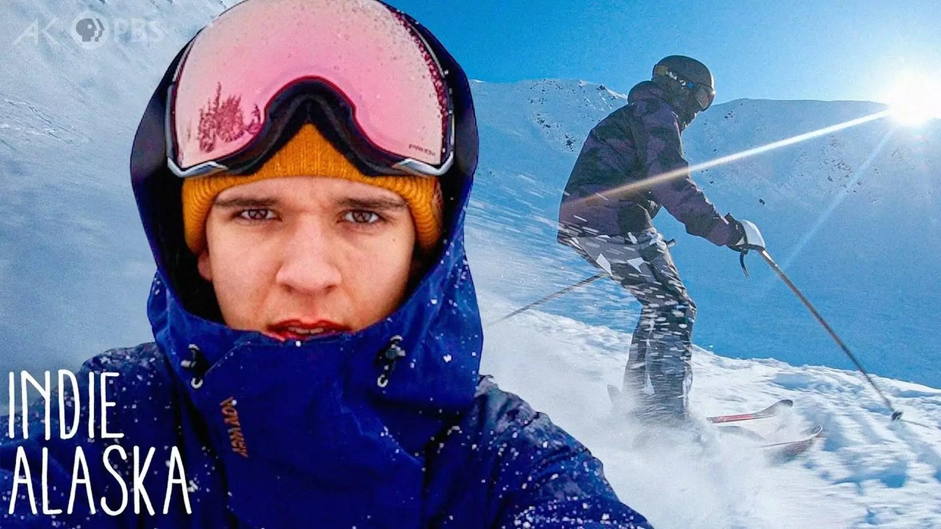 Skiing Alaska's extreme slopes with videographer Luka Bees.