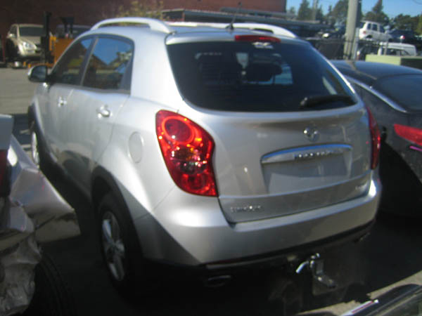 Ssangyong Korando Late 2 0dt M 2wd Silver Spare Parts