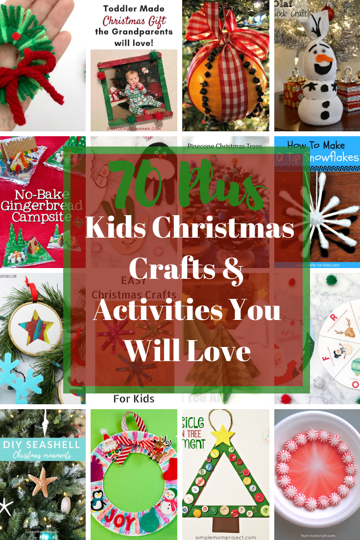 Top Kids Christmas Crafts Activities You Will Love Part 3