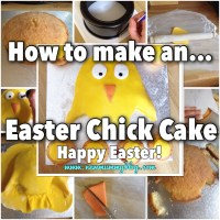 How to make an Easter Chick Cake | Fun cakes & Recipes