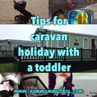 Tips for a caravan holiday with a toddler