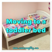 Moving to a toddler bed