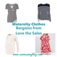 Maternity clothes - bargains from Love The Sales