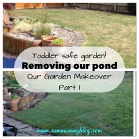 Removing our pond | Our garden makeover - part 1