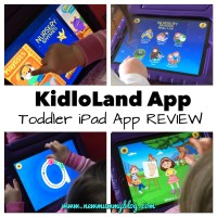 Kidloland App | Toddler iPad App Review