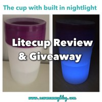 Litecup Review and Giveaway - Litecup a cup with a nightlight!