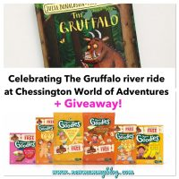The Gruffalo ride at Chessington World of Adventures | Organix + The Gruffalo book #GIVEAWAY