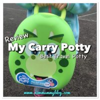 My Carry Potty Dinosaur Review| Best Travel Potty for Potty Training?