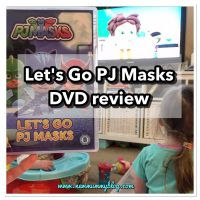 PJ Masks - Let's Go PJ Masks DVD | Preschool DVD Review
