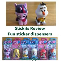 Stickits - Frozen, My Little Pony & Disney Princess stickers | Review