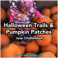 Halloween trails & pumpkin patches near Cheltenham 2018