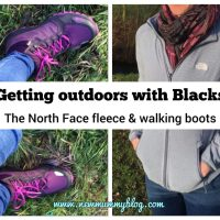 Getting outdoors with Blacks and Millets - women's The North Face walking boots & fleece review