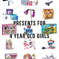 Presents for 4 year old girl - Last minute presents for preschoolers - from Amazon & supermarkets!