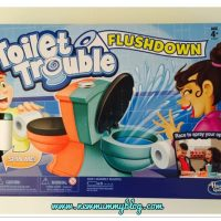 Hasbro Toilet Trouble Flushdown game for National Poop Day | + Crohn's Disease Awareness