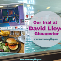 Our trial at the David Lloyd gym in Gloucester