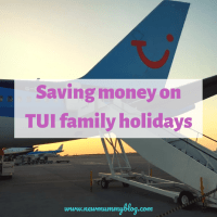 Saving money on TUI European family holidays