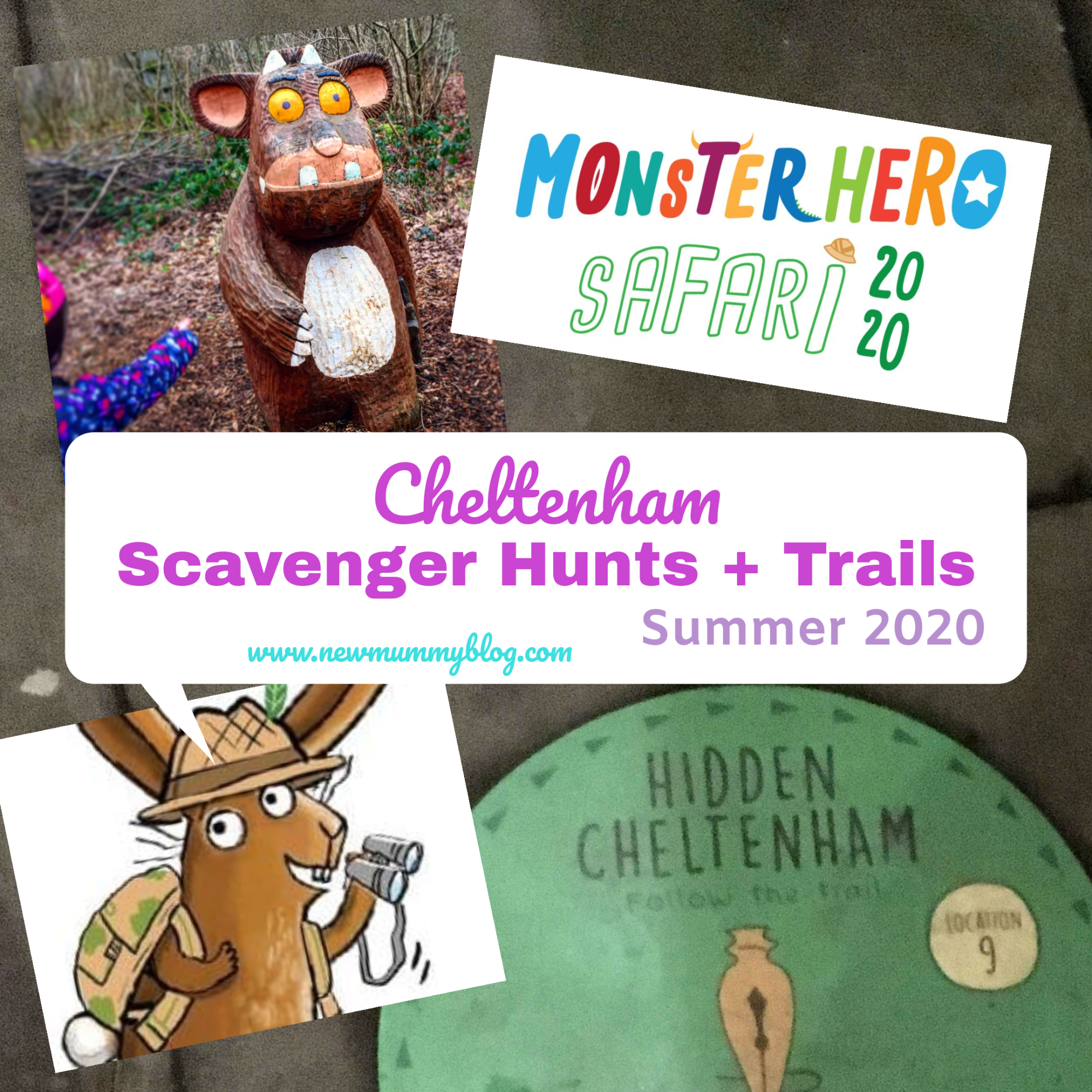 Cheltenham scavenger hunts and trails - days out Gloucestershire Summer 2020 post-lockdown