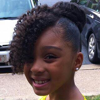 Fine Bun Natural Hair For Black Children With Long Hair New Natural Short Hairstyles Gunalazisus