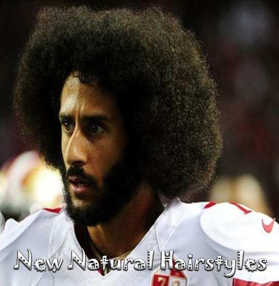 Best 6 American Footballer Colin Kaepernick Afro