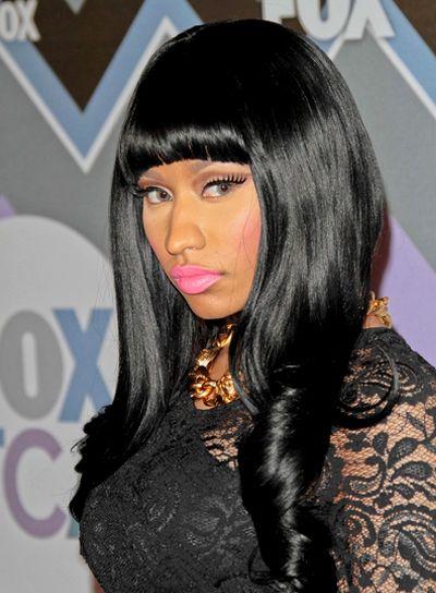 Nicki Minaj Hairstyles With Bangs Hairstyles Amp Haircuts