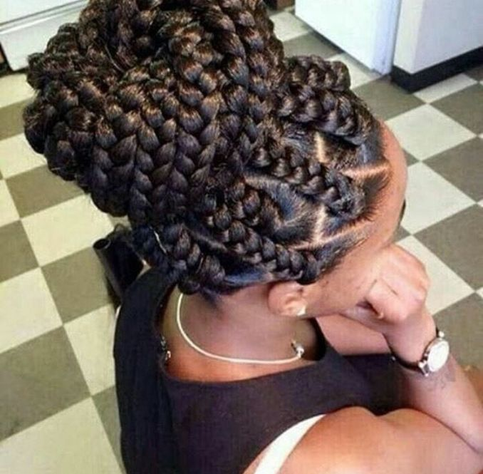 Image Result For Black Hairstyles For Long Ids