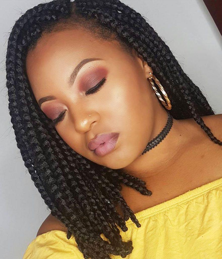 14 Dashing Box Braids Bob Hairstyles For Women Natural