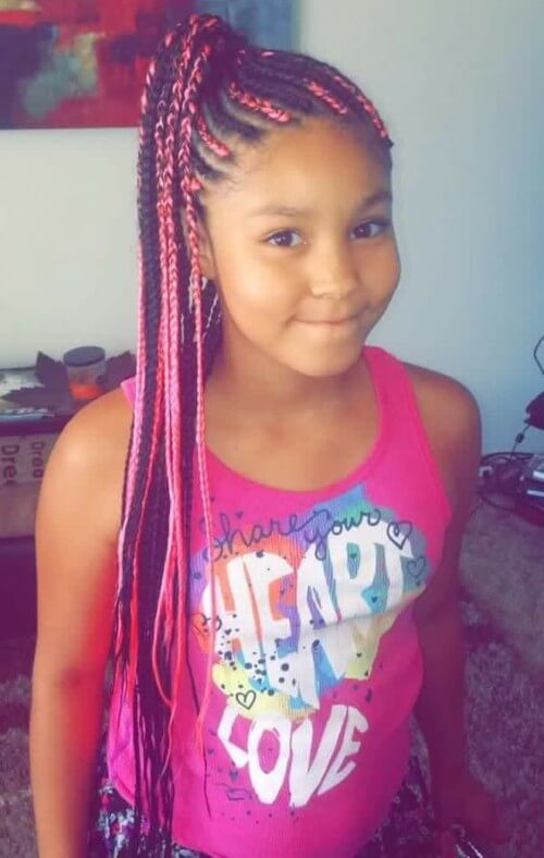 BOX BRAIDS FOR KIDS New Natural Hairstyles