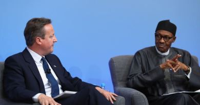 David Cameron and Buhari