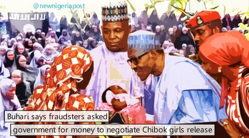 Buhari and chibok girls