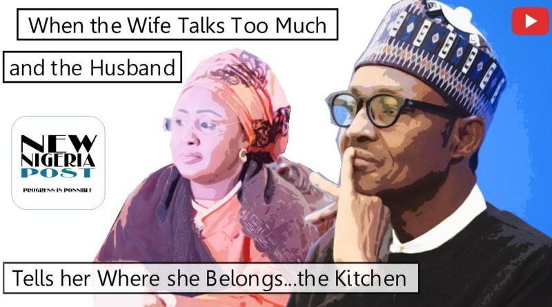 Buhari and Aisha Conflict
