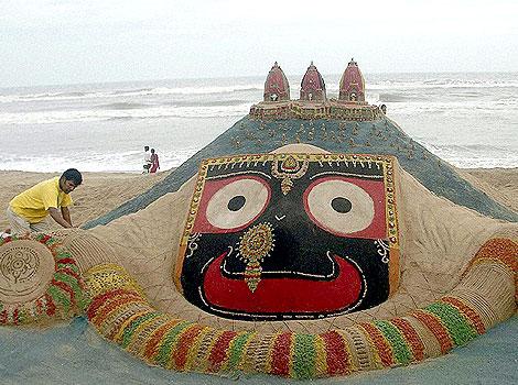 sand art by Sudarshan Pattnaik3