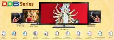 Durga Puja Offers on LCD & LED Televisions of Videocon in Odisha