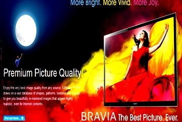 Diwali 2012 Offers on Sony Bravia LCD, LED and 3D Televisions