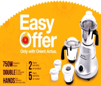 Diwali 2012 Offers on Orient Mixture Grinders