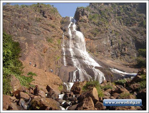Khandadhar Waterfall in Odisha