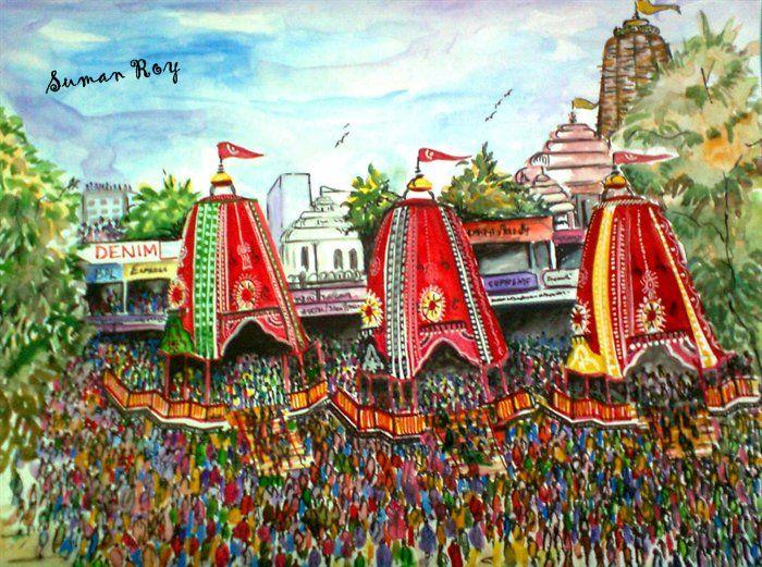 Ratha Jatra Painting Competition 2013 by New Odisha