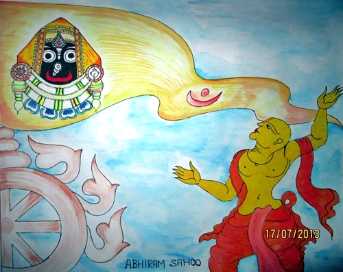 Ratha Jatra Painting Competition 2013 Winner by New Odisha