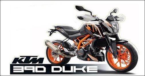 Bajaj KTM 390 Duke Motor Bike Now in Odisha
