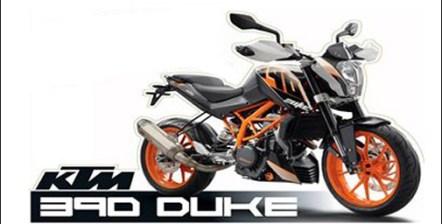 Bajaj KTM 390 Duke Motor Bike