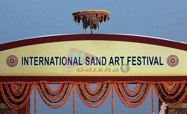 International Sand Art Festival 2013 of Odisha
