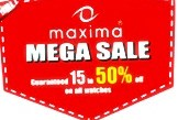 Maxima Mega Sale 15 to 50% Discount Offer on all Watches