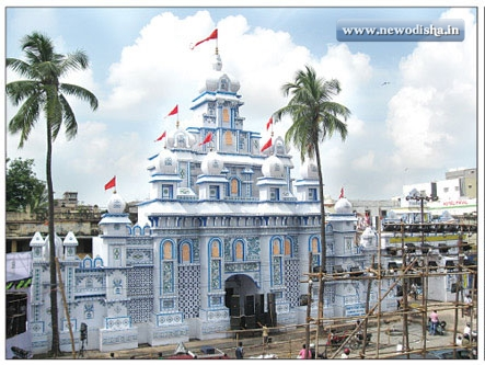 Bhubaneswar Old Station Bazar Durga Puja Gate 2013