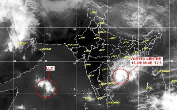 Cyclone Helen to cross Andhra, thundershower likely in Odisha