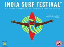India Surf Festival 2015 at Ramchandi beach, Odisha
