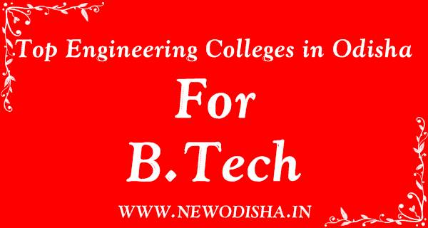 Top 10 Degree or B.Tech Engineering Colleges in Odisha