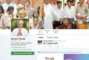 Odisha CM Naveen Patnaik opens Twitter Account