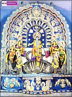 Cuttack Pithapur Durga Puja 2015